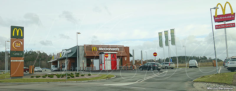 McDonald's vid E6 i Håby, Munkedal