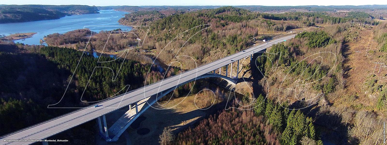 Munkedalsbron över Örekilsälven
